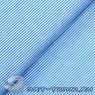 Польский хлопок 50*40 см - Мелкие полосочки
