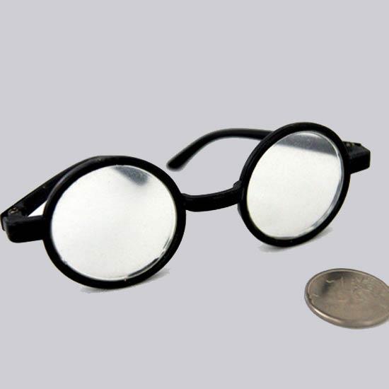Очки со стеклом для куклы, 8 см