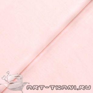 """Ткань """"Однотонная светло-розовая"""" - хлопок 100%"""