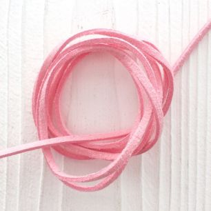 Замшевый шнур Светло-розовый
